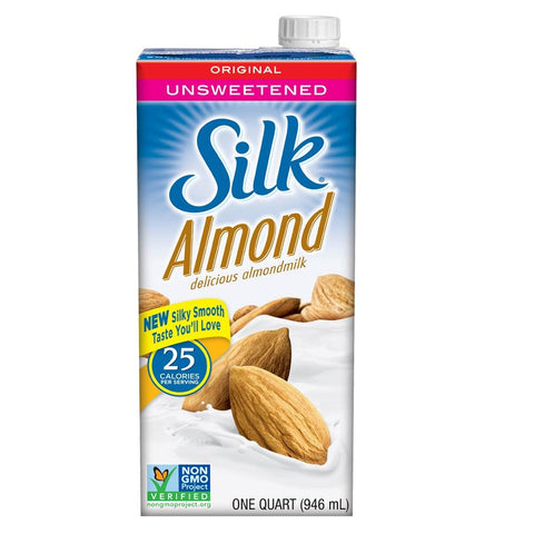 Silk Almondmilk - Unsweetened Original 946ml, Almondmilk, Silk - kindgrocer