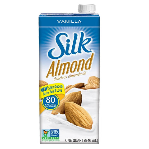Silk Almondmilk - Vanilla 946ml, Almondmilk, Silk - kindgrocer