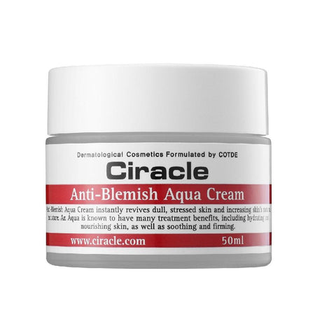 Ciracle Anti-Blemish Aqua Cream 50ml, Moisturiser, Ciracle - kindgrocer