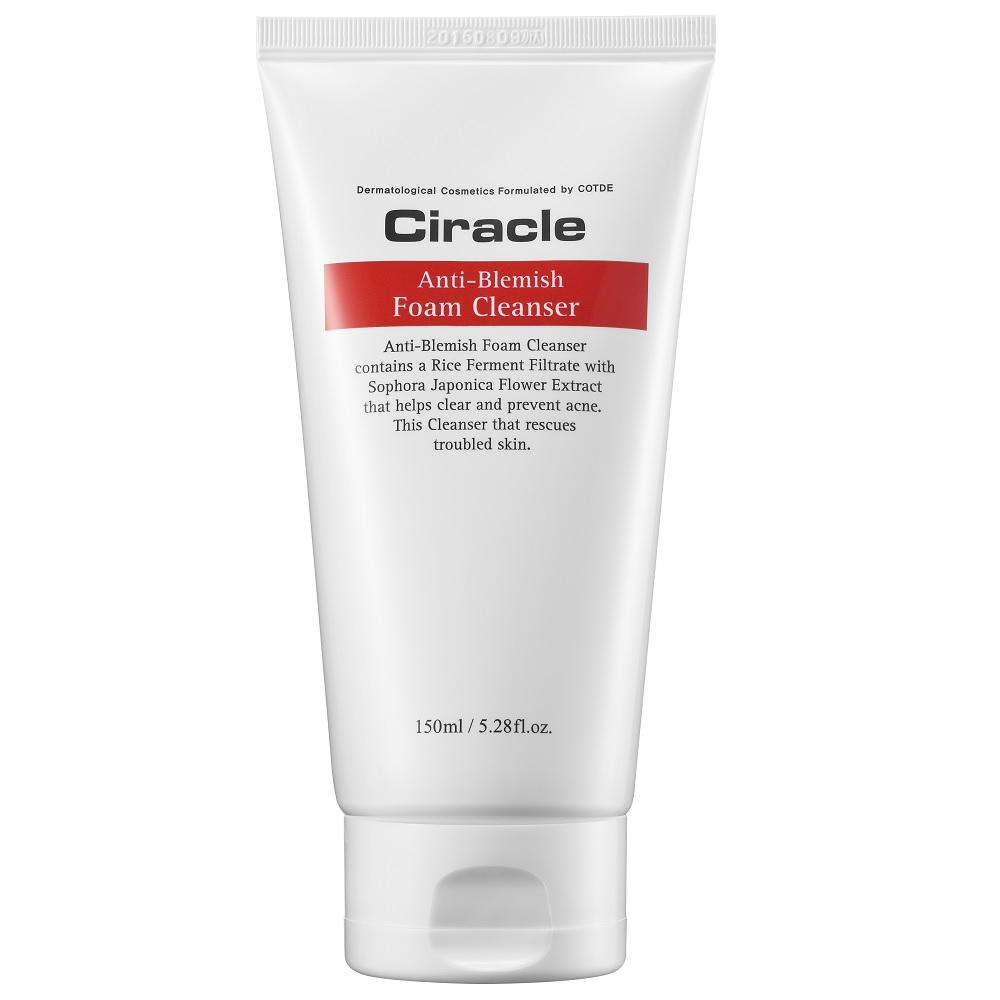 Ciracle Anti-Blemish Foam Cleanser 150ml, Facial Cleanser, Ciracle - kindgrocer
