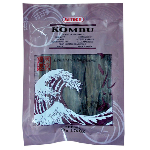 Mitoku Kombu Dried Sea Vegetable 50g, Cooking Ingredient, Mitoku - kindgrocer
