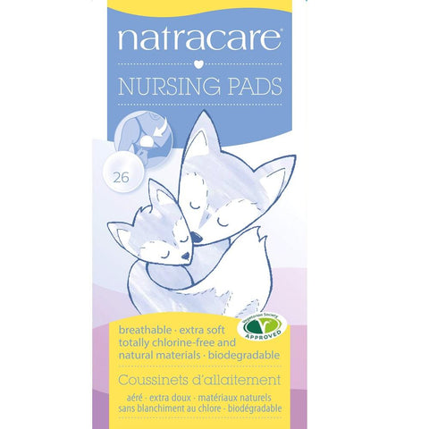 Natracare Natural Nursing Pads 25pcs, Nursing Pads, Natracare - kindgrocer