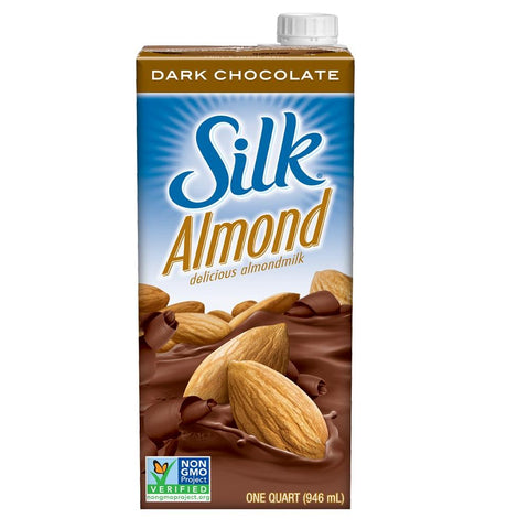Silk Almondmilk - Dark Chocolate 946ml, Almondmilk, Silk - kindgrocer