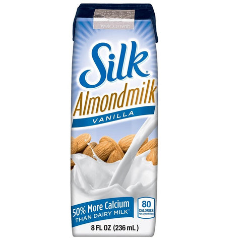 Silk Almondmilk Single - Vanilla 240ml, Almondmilk, Silk - kindgrocer
