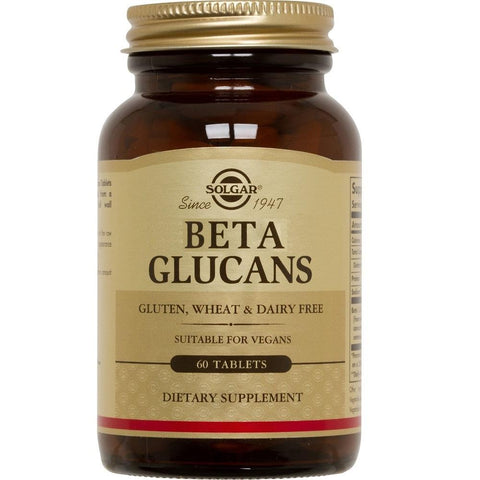 Solgar Beta Glucans 60 Tablets, Supplement, Solgar - kindgrocer