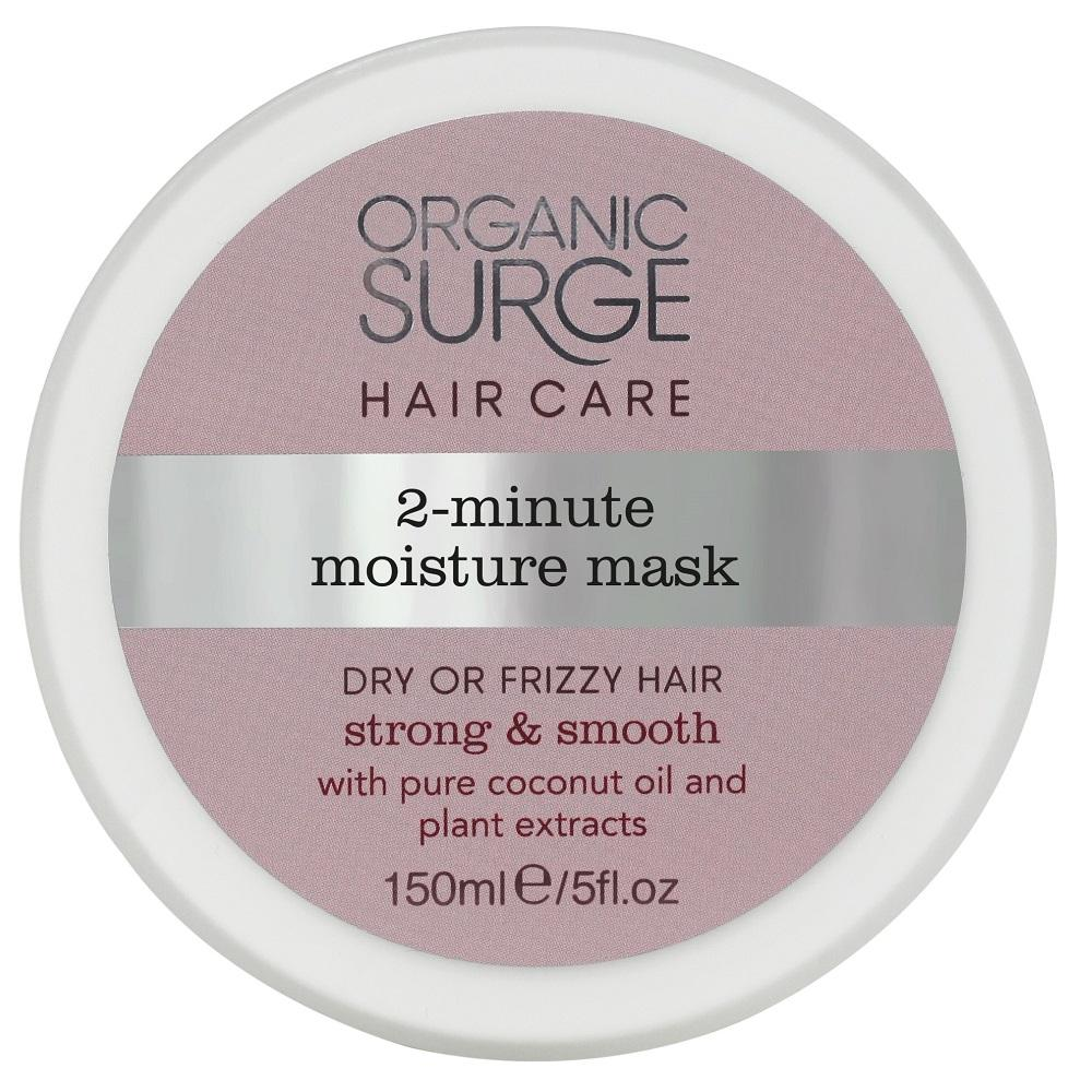 Organic Surge 2-Minute Moisture Mask 150ml, Hair Mask, Organic Surge - kindgrocer