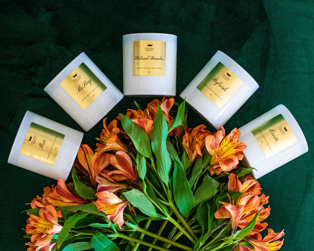 9 oz Crown Candle Set (5)