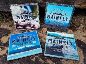 "Set of 4 - 6"" x 6"" Coasters"
