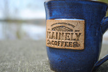 12oz Hand-Thrown Mainely Coffee Mug by Round Island Pottery