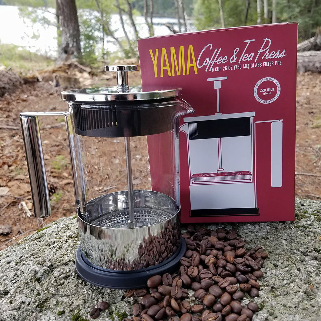 Yama 6 Cup French Press - 30oz