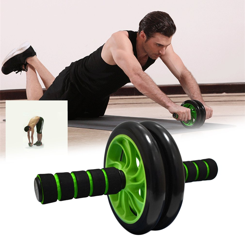 Double-Wheeled Abdominal Roller