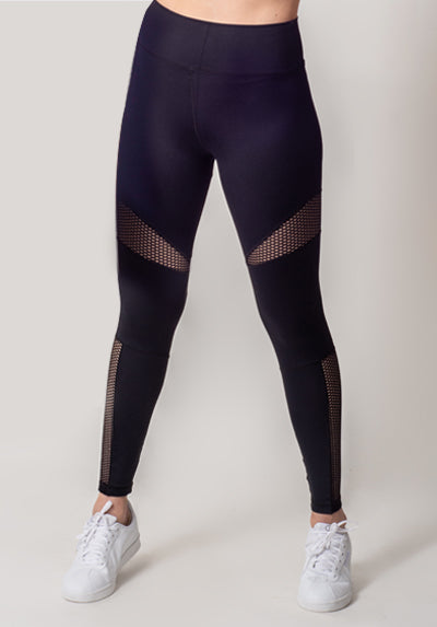 MESH HIGH-WAIST LEGGING