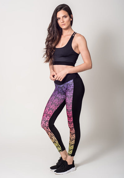 DUO FLORAL LEGGING