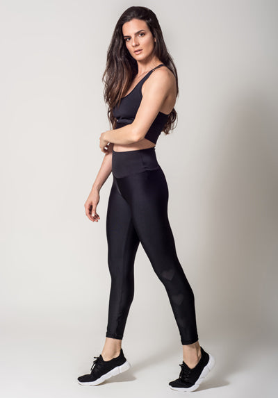 INFINITY BLACK HEARTS LEGGING