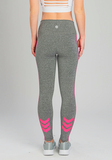 INFLUENCE NEON PINK CHEVRON LEGGING