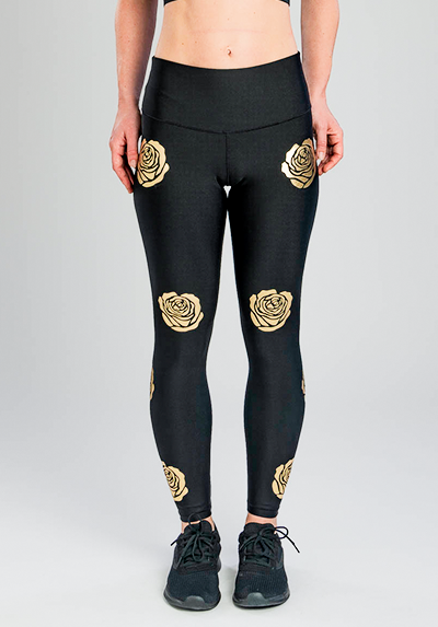 GOLD ROSES LEGGING