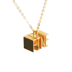 Pendant - FINE - Gold-plated Brass