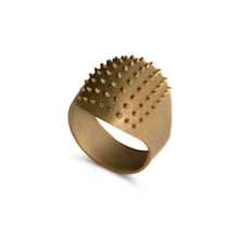 Ring - Little Porcupine - Raw Brass