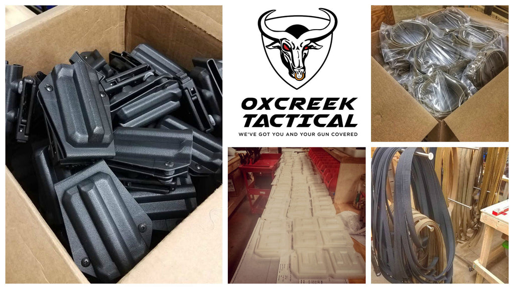Kydex holsters and tactical gear accessories