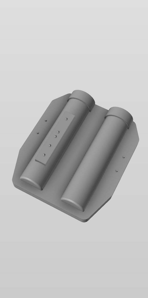 Baton Carrier Mold