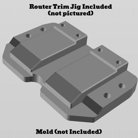 Kydex Magazine Carrier mold with Tulster MRD Blocking
