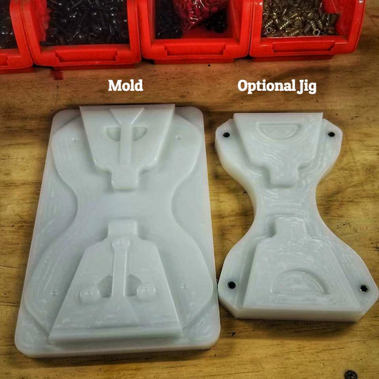 kydex handcuff carrier mold