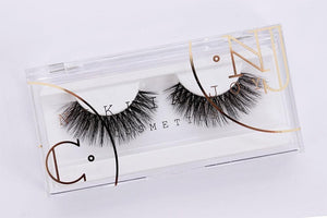 Clear band silk lashes