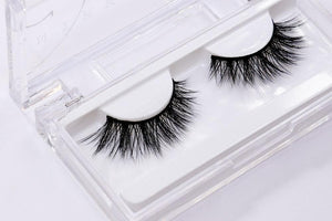 Comfortable silk eyelash with thin flexible band