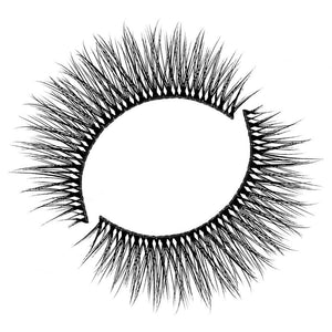 Natural eyelash for small eyes and wearing under glasses