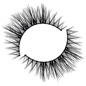 Wispy eyelash for small or hooded eyes