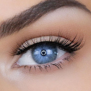 Natural, comfortable eyelashes for small eye shapes