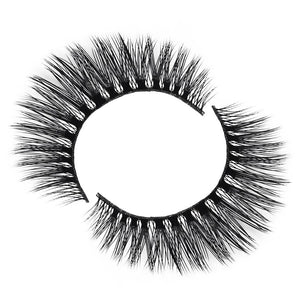 Faux mink eyelash for small or hooded eyes