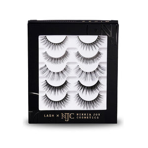 Soft natural eyelashes for everyday wear