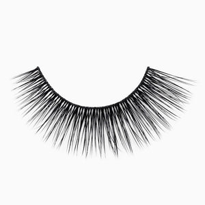 Natural eyelash with a thin, comfortable band