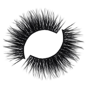 Cruelty free lash with a thin, flexible band
