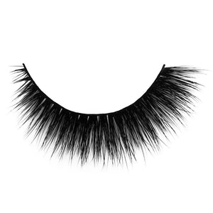 Luxury silk eyelash with flexible cotton band for small eye shapes