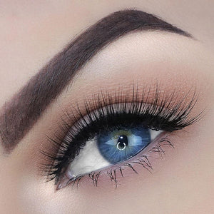 Natural Silk Eyelash for small eye shapes