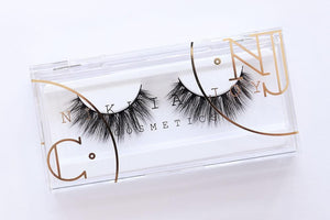 Cruelty free silk eyelashes