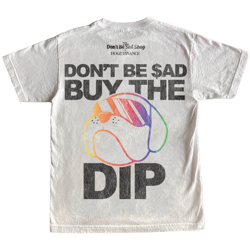 HOGE - Buy The Dip Tee - White
