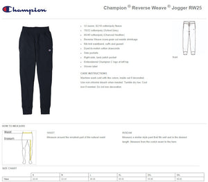 8AM x CHAMPION SWEATPANTS Charcoal
