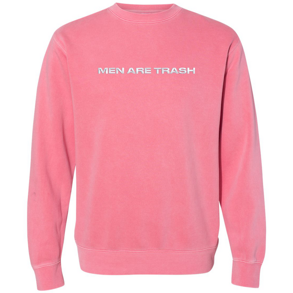 MEN ARE TRASH Crewneck