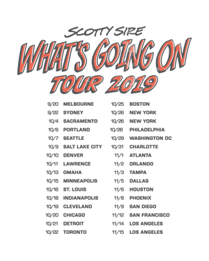 What's Going On Tour Tee
