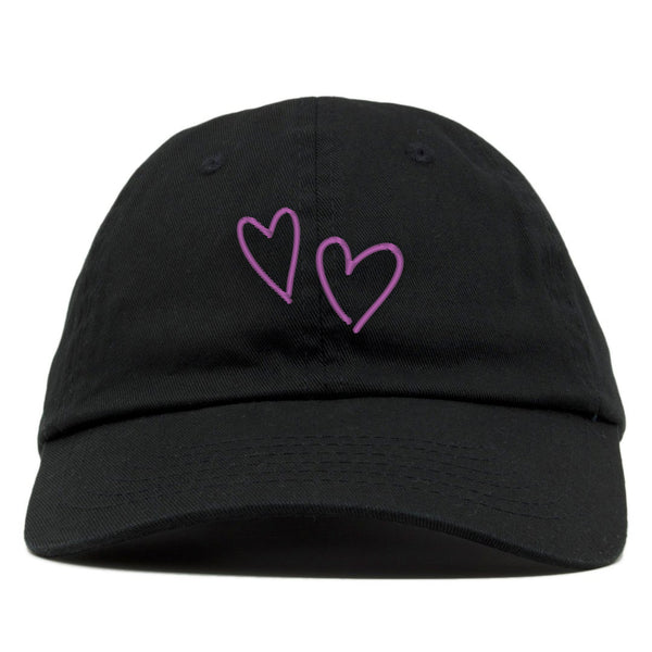 Glowing Heart Dad Hat