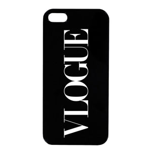Vlogue iPhone Case