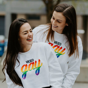 Wicked Gay Crewneck Sweatshirt