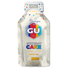 GU Gel Birthday Cake