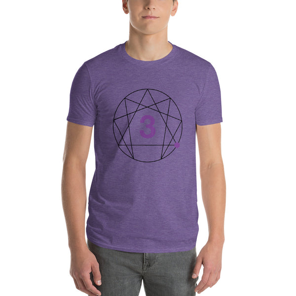 Enneagram #3 Colored T-Shirt