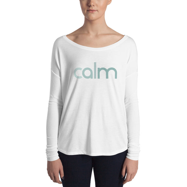 Calm Ladies' Long Sleeve Tee