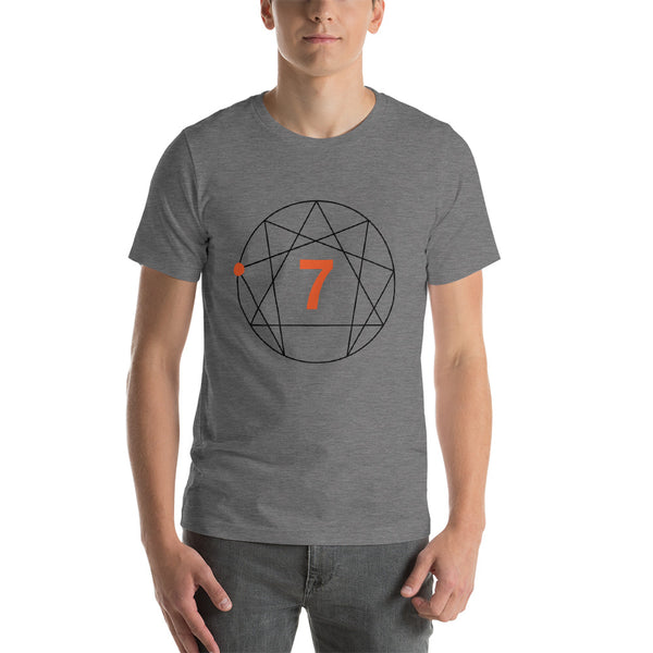 Enneagram #7 Colored T-Shirt