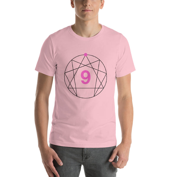 Enneagram #9 Colored T-Shirt